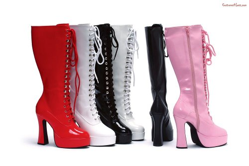Deluxe Knee High Easy Lace Boots iESvNv