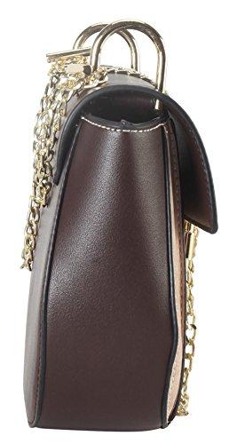 Stripes Diophy 3816 Black Bag PS Crossbody Fashion Vertical q5w5rC1