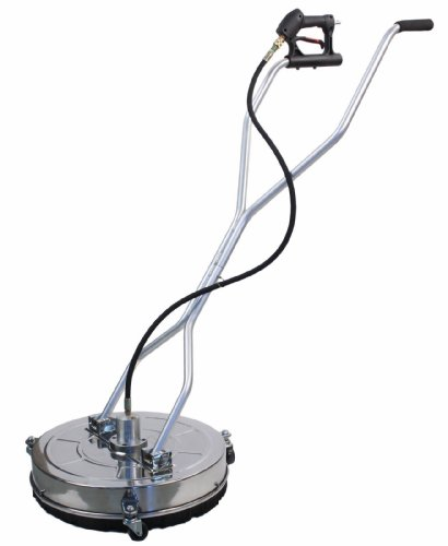 Erie Tools 21'' Stainless Steel Flat Surface Cleaner 4000 PSI Max for Power Pressure Washer by Erie Outdoor Power Equipment