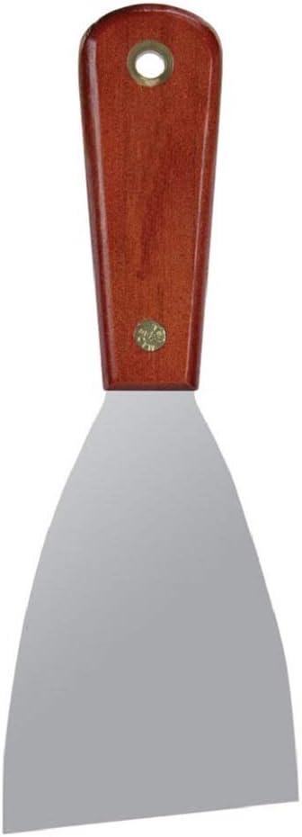 Rosewood Series Warner 4 Flex Broad Knife Stainless Steel Blade 10740