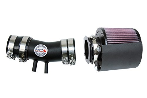 (HPS Black Shortram Air Intake Kit + Heat Shield for 99-04 Nissan Frontier 3.3L V6 Non Supercharged)