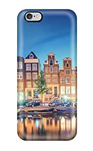 Durable Defender Case For Iphone 6 Plus Tpu Cover(amsterdam City )