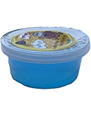Crystal Slime Rubber Clay Kids Party Gift, Light Blue