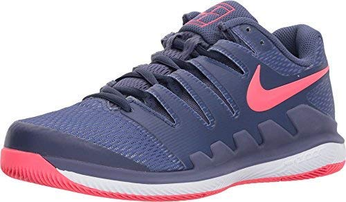 Nike Womens Zoom Vapor X Tennis Shoes (6.5 B(M) US, BLUE RECALL/RACER - Nike Cycling Shoes