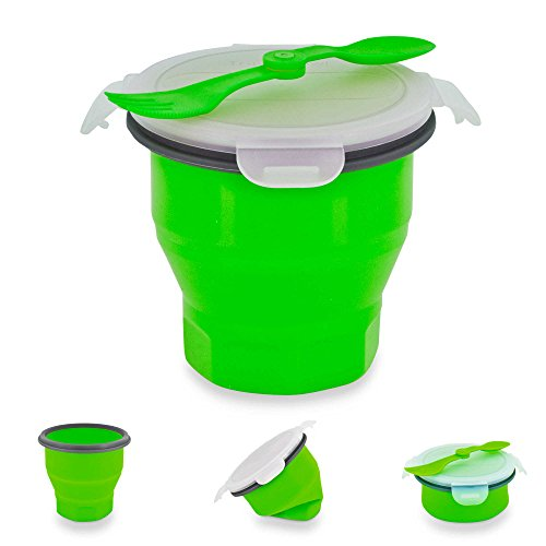 Cherry Red Jumbo Cup (SmartPlanet Collapsible Soup & Salad Bowl Meal Kit in)