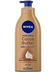 NIVEA Cocoa Butter Body Lotion Vitamin E Dry Skin, 625 ml