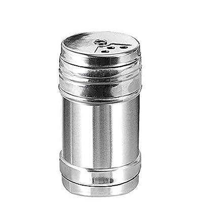 Amazon.com: Anclle - Salero de pimienta con tapa de acero ...