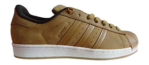 adidas originals superstar mens trainers sneakers shoes (us 7, MESA/MESA/DBROWN S75540)