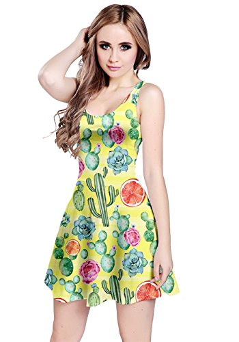 Womens Tropical Toucan Dress 5XL Fruits CowCow Beach XS Hawaii Banana Surf Pineapple Plants Tropical Sleeveless Summer Strawberry BTdq0xF