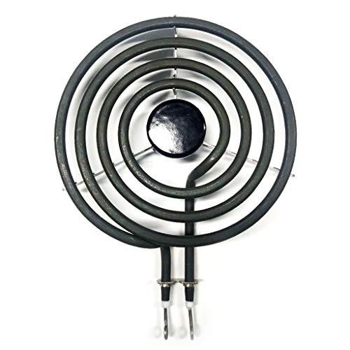 Lemoning  234000 8in Universal Surface Range Element, 5 Turn, 2,100 Watt/242Volt (D) - Coil Watt 8 Inch 2100