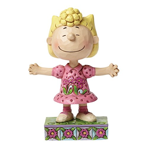 Enesco 4049406 Peanuts by Jim Shore Sally Personality Pose Figurine]()