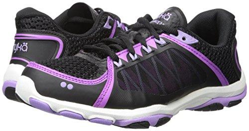 Ryka Influence Mujer US 6.5 Negro Zapatos Deportivos