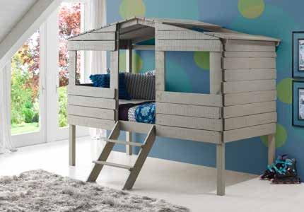 Rustic Loft Bed