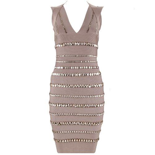 herve leger dress fabric - 8