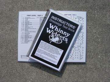 Whinny Widgets Instructors' Dressage Test Book ()