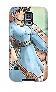CjUYcHA14237yZQiV Case Cover, Fashionable Galaxy S5 Case - Nausicaa Of The Valley Of The Wind