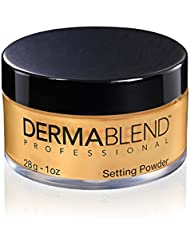 Dermablend Loose Setting Powder for Up To 16 Hours Of Coverage, Warm Saffron, 1 Oz.