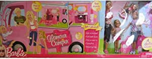 Barbie Glamour Camper - Exclusive Set with 4 Dolls