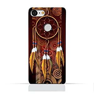 AMC Google Google Pixel 3 TPU Silicone Protective Case with American Feathers Design