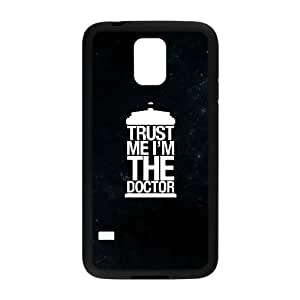 Doctor Who Samsung Galaxy S5 Cell Phone Case Black yyfabc_994341