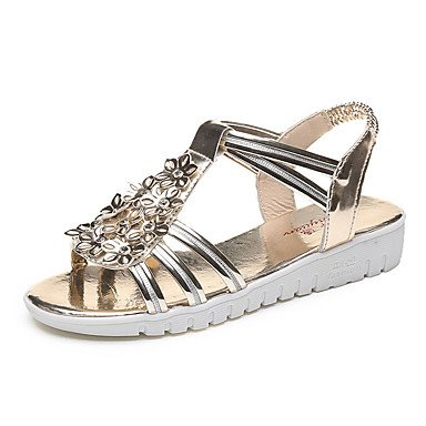 Gold Dress Comfort Sandals Women'S Uk5 RTRY 4In 5 3 Casual Chunky Eu38 Summer 1 5 Pink Pu Spring Blushing Us7 Silver Gold Heel Cn38 Comfort 1In AnPqE0wq