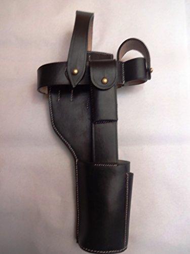 warreplica German C96 Broomhandle Mauser Holster Black - Reproduction