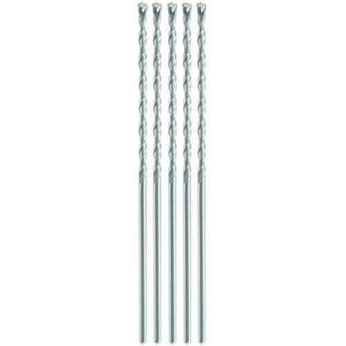 Bosch LBH0025 5/32 Round Hammer Drill Bits (5 Piece)