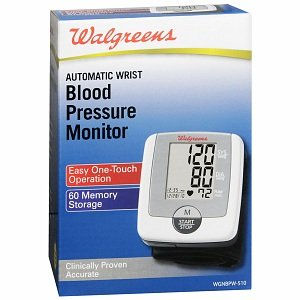 Walgreens Wrist Automatic Blood Pressure Monitor, 1 ea
