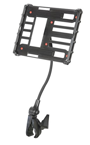 Delta Cycle HK7100 Tablet Holder with Flexible Extension Clamp, Black