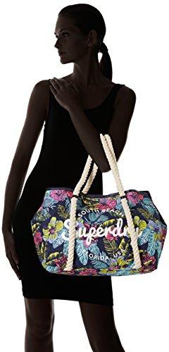 Bayshore Neon Superdry Multicolour Superdry Pop Tote Bag Women's Hibiscus Women's qtx6xR0