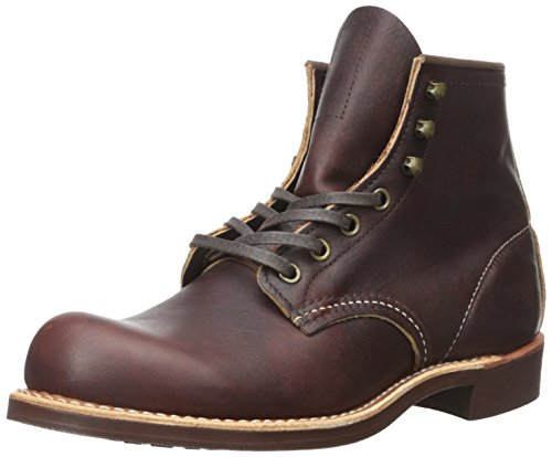 Red Wing Heritage Men's Blacksmith-M Work Boot, Briar Oil Slick Leather, 9 D (M)