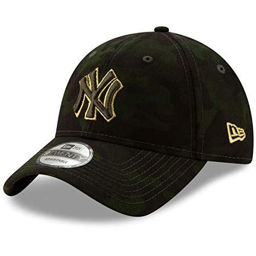 - New Era New York Yankees 2019 MLB Armed Forces Day 9TWENTY Adjustable Hat - Camo