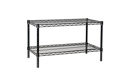 "Review 18"" Deep x 24"" Wide x 14"" High 2 Tier By Omega by Omega"