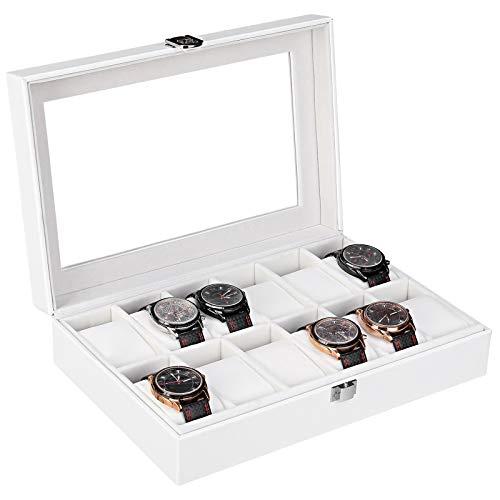 🥇 Femor Caja Relojes para 12 Relojes