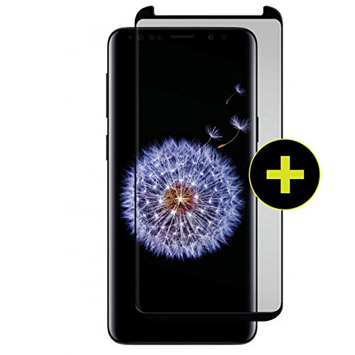 Gadget Guard Black Ice Plus Cornice 2.0 Full Adhesive Curved for Samsung Galaxy S9+ Plus - GGBIP2C208SS05A by Gadget Guard
