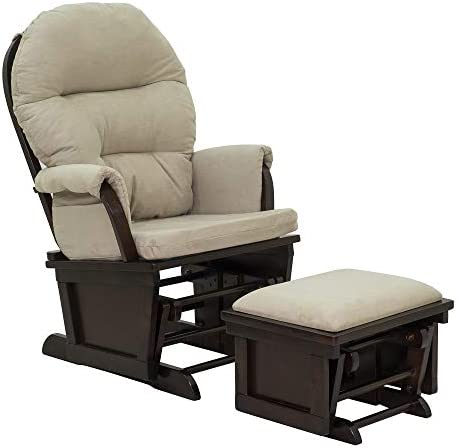 HOMCOM Nursery Glider Rocking Chair