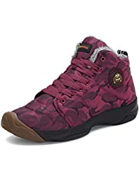 Mens Womens Winter Snow Boots Fur Warm Outdoor Water Resistant Slip On Casual Walking Camo Ankle Shoes