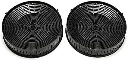Nero Elica cfc0038668 carbone attivo filtro per cappe aspiranti 3 COPPIA