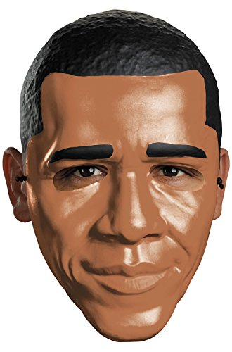 Obama Face Mask (Disguise Costumes Obama Vacuform 1/2 Mask,)