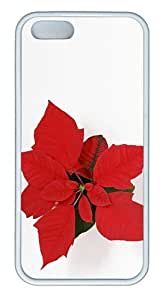 Download Christmas Flower TPU White leather iphone 5S cover for Apple iphone 6 by supermalls