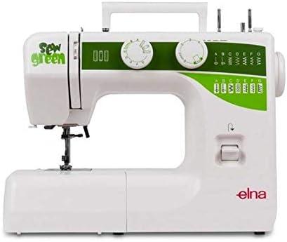 Elna E 1000 Sew Green - Máquina de coser: Amazon.es: Hogar