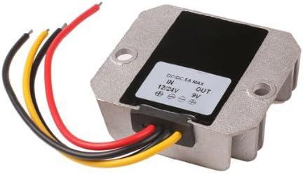 TOOGOO(R)Adaptador paso-abajo Modulo regulador conversor de potencia DC (12V / 24V a 9V 5A DC / DC)