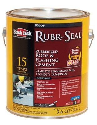 Black Jack Rubr-Seal #21 Rubberized Roof Cement 3.6 Qt