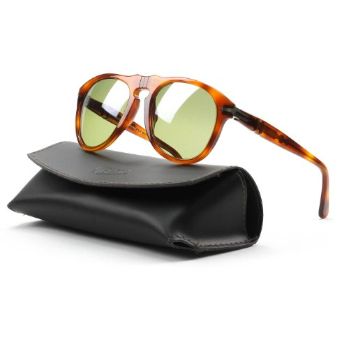 Persol PO0649 Sunglasses-96/83 Terra Di Siena (Photo Polarized Green - 649 Sunglasses Persol