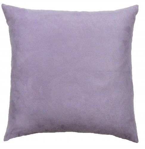 DreamHome - Solid Faux Suede Decorative Pillow Cover/Sham,