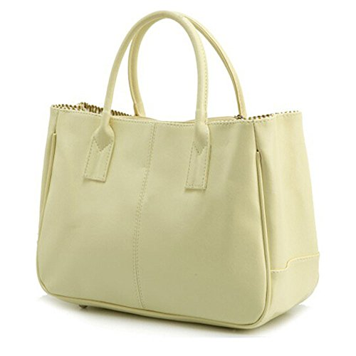 Deley Dames Beige Business Bag Top Main Handle Féminine Bureau Design Simple Mode Sac À 7gxw7tqOcr
