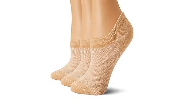 Calcetines de bamb/ú para mujer Medium//7.5-10 US -  Beige Bam/&b/ü 3 o 4 pares, antideslizantes
