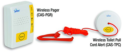 Pager Belt Clip - Secure Wireless Caregiver Pager and Nurse Call Pull Cord Transmitter