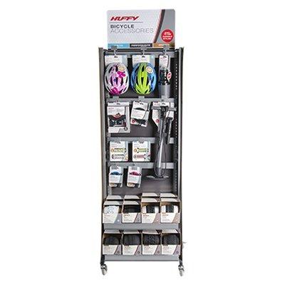 Huffy DM002 Bike Accessory 2 Sided Wire Grid Display Rack -