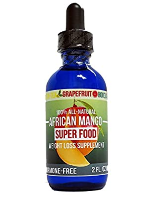 African Mango Super Food Weight Loss Supplement! 100% ALL NATURAL with Green Tea, Grapefruit, and Hoodia extract!